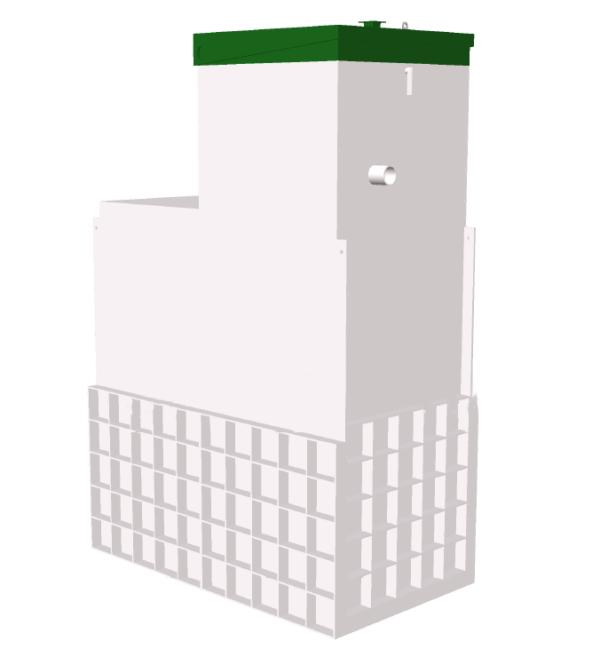 Септик Топас-С 12 Long (Принудительный)