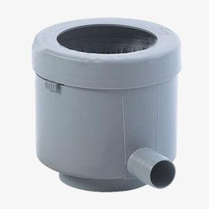 Фильтр-отделитель листвы для декоративных ёмкостей (серый)