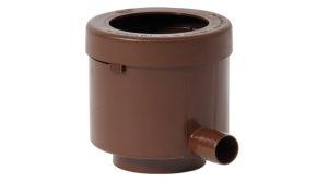 Фильтр-отделитель листвы для декоративных ёмкостей (коричневый)