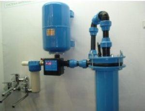 Обвязка скважины на воду